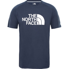 The North Face Wicker Graphic Crew Shirt Men urban navy heather/TNF white